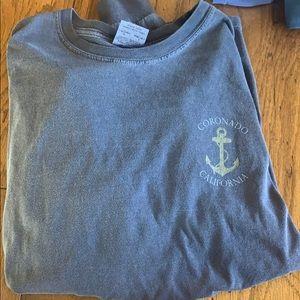 Funny Coronado California T-shirt long sleeve